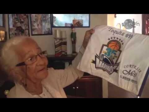 Toquita Mejías, la fanática número 1 en el deporte de Anzoátegui
