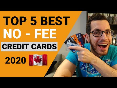 TOP 5 BEST NO-FEE CASH BACK CREDIT CARDS IN CANADA 2020 | Credit Card Guide Chapter 3