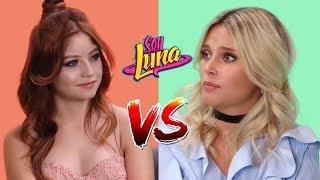 Karol Sevilla y Valentina Zenere ¿Cual es tu Favorita? Soy Luna