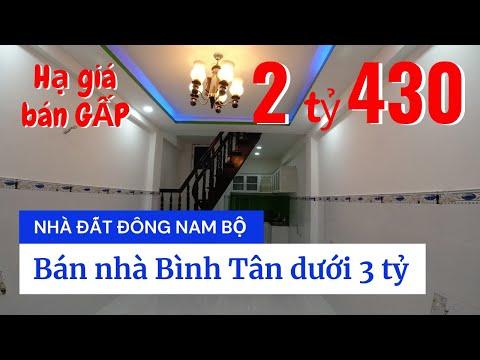 Chính chủ Bán nhà quận Bình Tân dưới 3 tỷ, sổ hồng riêng, hẻm 344 Chiến Lược