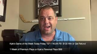 FREE NCAA College Football Sports Picks Saturday 10/12/19