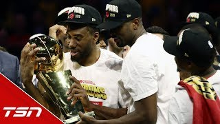 Does winning with the Raps make Kawhi want to stay or be more comfortable with leaving?