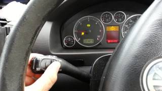 VW Sharan CRUISE CONTROL UPGRADE Fitting also for Seat Alhambra / Ford Galaxy