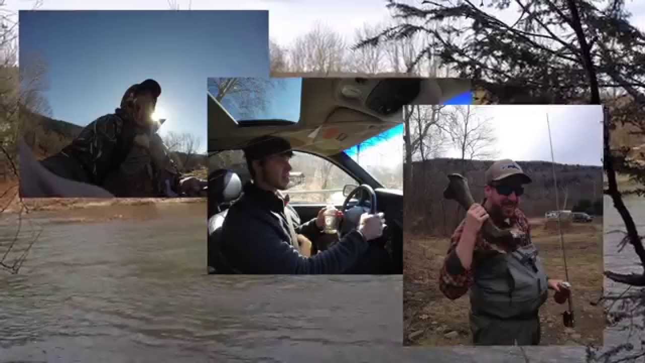 Opening day trout fishing roscoe ny youtube for Roscoe ny fishing