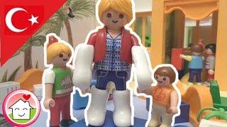 Çocuk filmi  Elif Anaokuluna Başlıyor / Playmobil Türkçe Hauser Ailesi