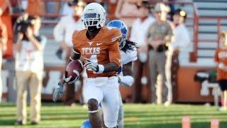 Texas' Daje Johnson Electrifying Punt Return Vs. Rice | Campusinsiders