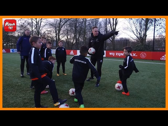 Sterrenteam: De eerste training bij Ajax!