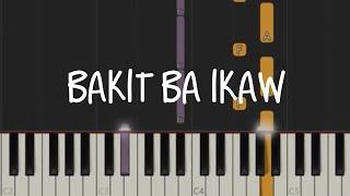 Bakit Ba Ikaw - Michael Pangilinan | Easy Piano Tutorial
