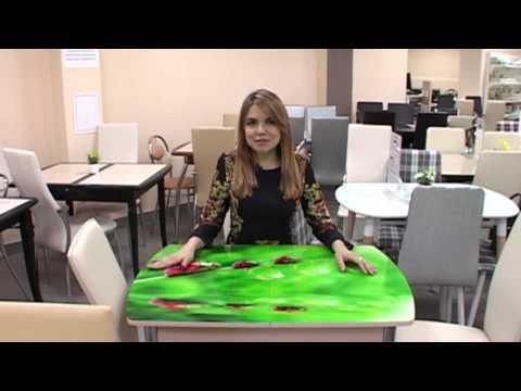 Обеденные столы и стулья. Стекло или керамика?