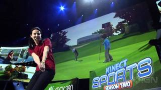 Kinect Sports: Season 2 - E3 2011: Gameplay Demo