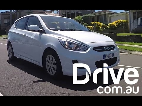 2015 Hyundai Accent Video Review Drive.com.au
