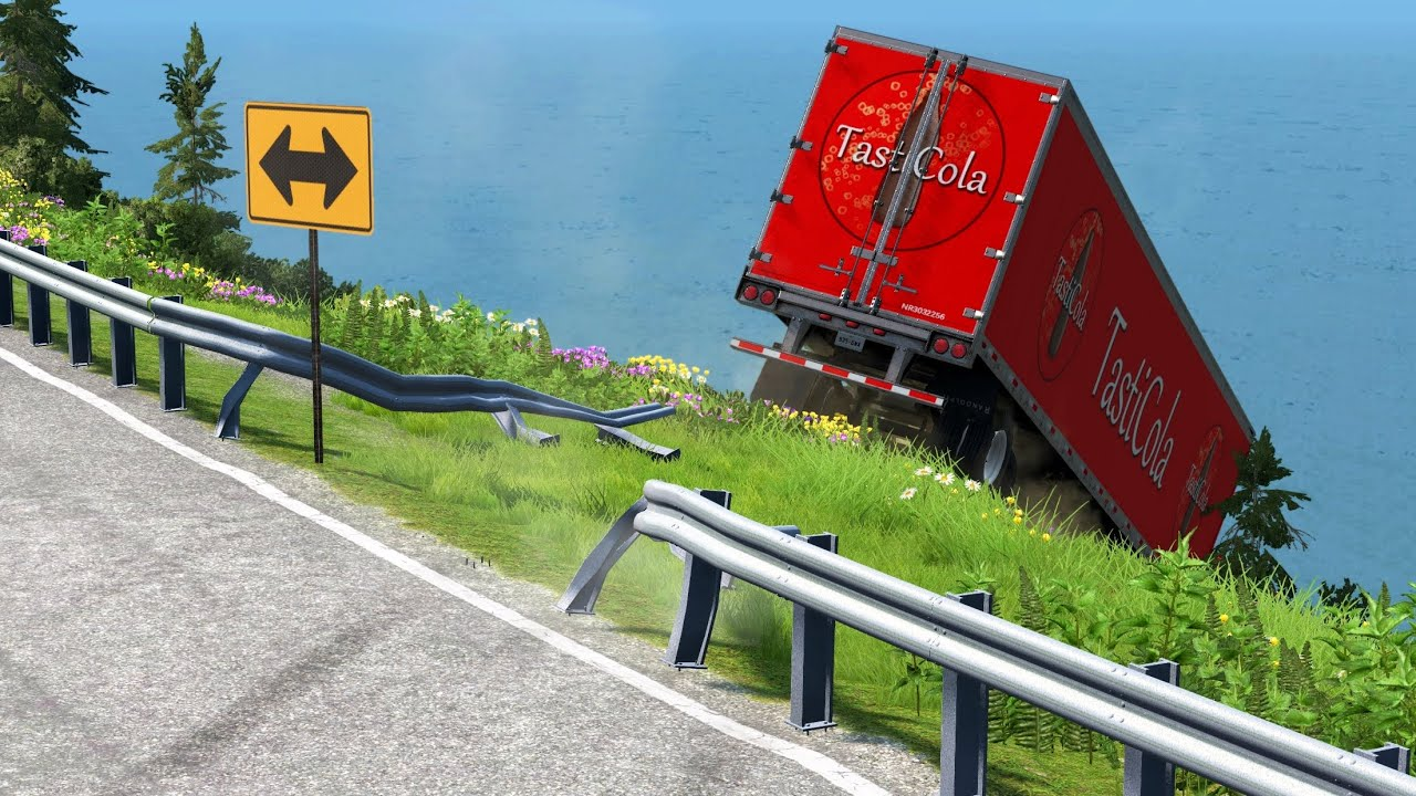 Tasti Cola Delivery Fails 6 | BeamNG.drive