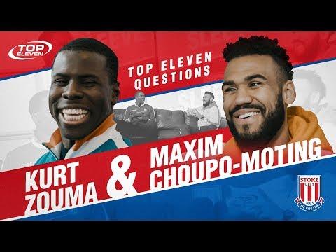 Top Eleven Questions feat. Kurt Zouma & Maxim Choupo-Moting | Top Eleven