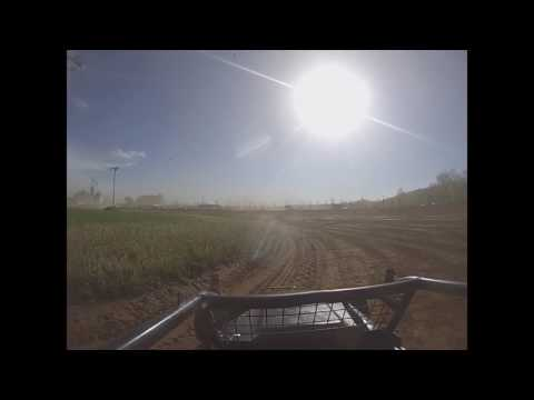 Paragon 4/23/17 on board sprint car practice