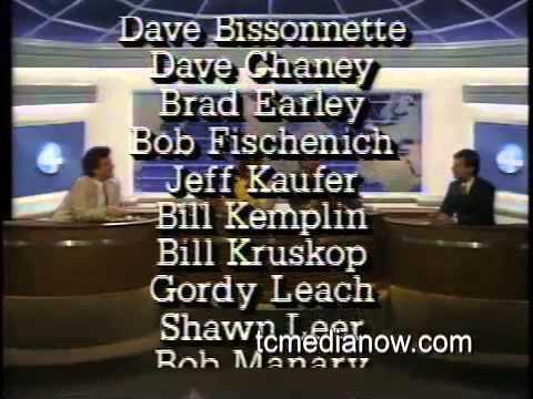 WCCO-TV 10pm Report  Credits 1986