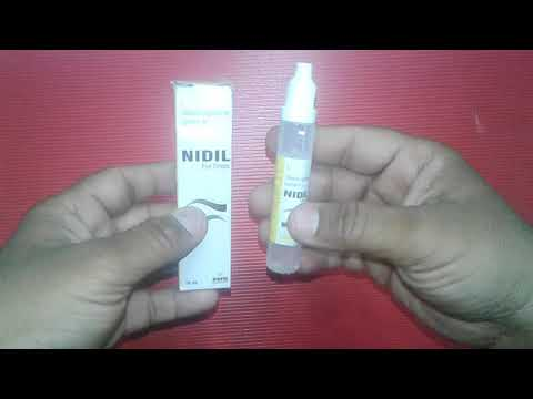 NIDIL Eye Drops Uses,Benefits,Composition,Side Effects,Precautions,Dosage & review in Hindi