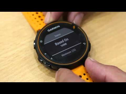 Garmin Forerunner 235 : Heart Rate Resting