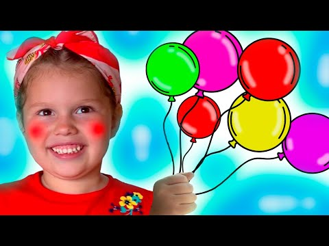 Balloon song  Nursery Rhymes and Kids Songs with Agnes Stories