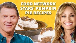 We Tried Food Network Stars' Pumpkin Pie Recipes | TASTE TEST