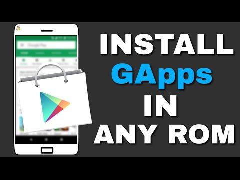 Install GApps On Any Custom Rom   Hindi
