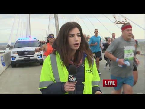WSAV's Alex Bozarjian Addresses Bridge Run Incident