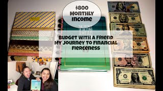 Budget with Me | Budget with a Friend | $800 Monthly Income | REAL NUMBERS