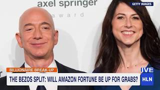 HLN THis Morning - Jeff Bezos' Divorce