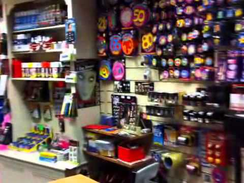 Party Supplies - Poppers - The Party Shop