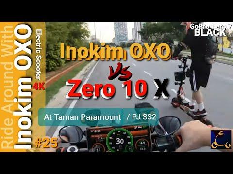 Inokim OXO Vs Zero 10X /Ride Around At KL Taman Paramount/PJ SS2 #25/ Gopro Hero 7 Black /4K 60fps