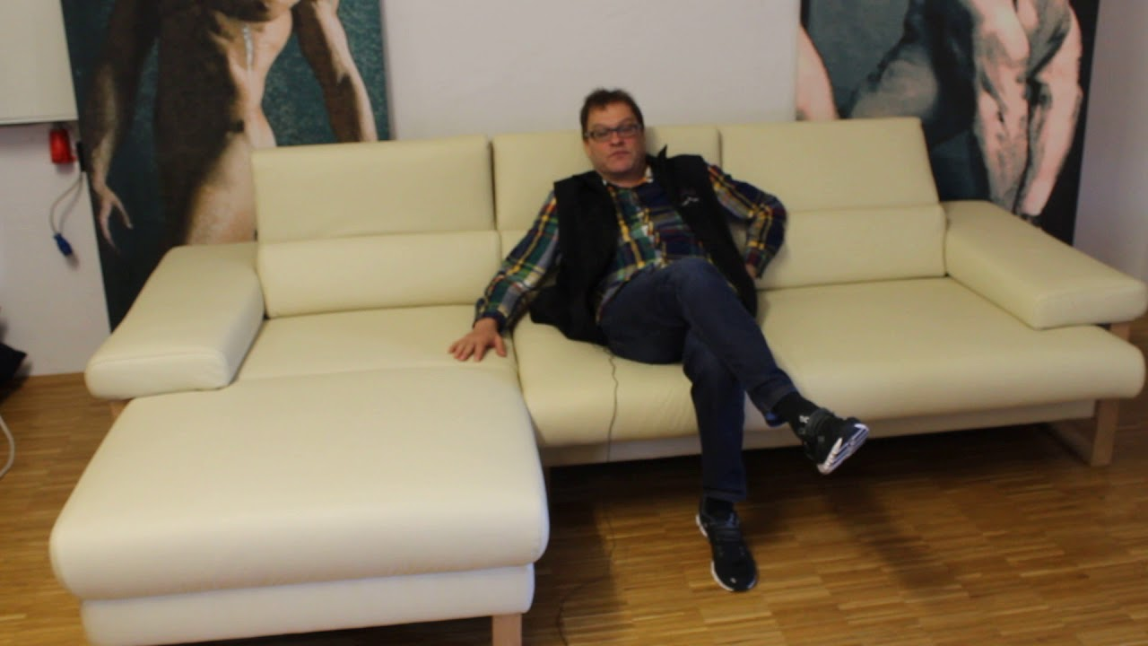Willi Schillig Ecksofa Longlife Leder Sofa Finn Von Willy Schillig 001