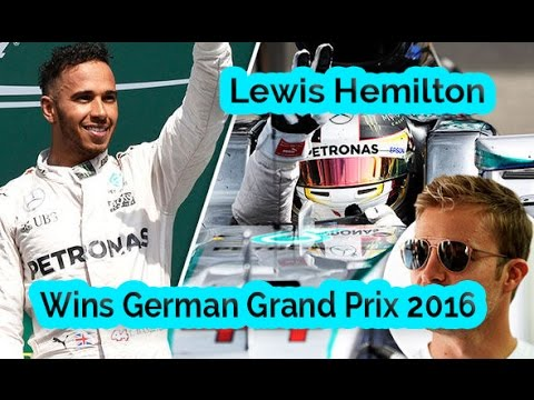 F1 German Grand Prix 2016 - Lewis Hamilton storms to VICTORY at Hockenheim after Nico Rosberg suffer