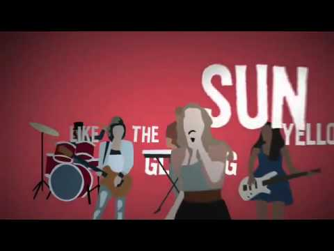 Lemonade Mouth - Somebody - Lyric Music Video
