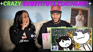 "Jaiden Animations ""Crazy Substitute Teachers"" REACTION!!!"