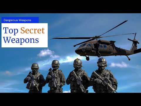 10 Alleged Secret Weapons Of The US Military | Top Facts | Top Delicacy | #top10