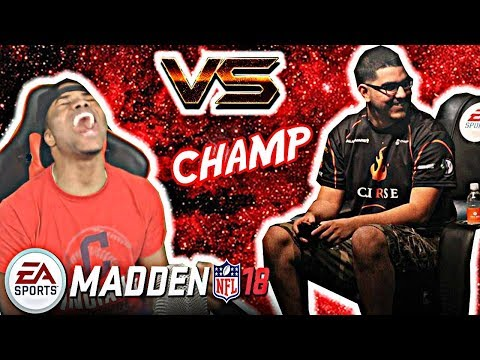 PLAYING A MADDEN CHAMPION! OVERTIME THRILLER! | Madden 18 Ultimate Team Gameplay - MUT 18