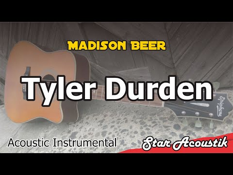 Madison Beer - Tyler Durden - Acoustic Karaoke With Lyrics