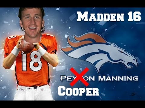 COOPER MANNING PLAYS! - Madden 16 Connected Franchise | Ep. 1