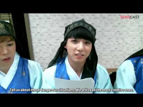 [ENG SUB] BTS a Little Dangerous Chuseok (Naver Starcast) [1/3] Diana TvSanders