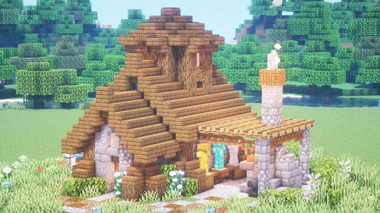 The armorer house in minecraft
