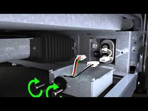 Downdraft Range: Installing The Capacitator | JennAir