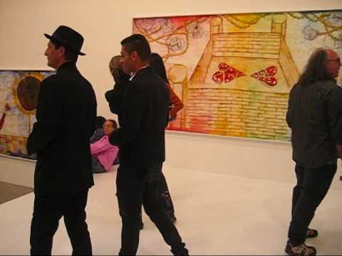 Francesco Clemente opening at Jeffrey Deitch, NYC (May 2009)