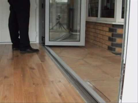 Aluminium Folding Doors Youtube