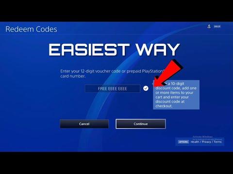 HOW TO REDEEM PSN CODES - Easiest Way!