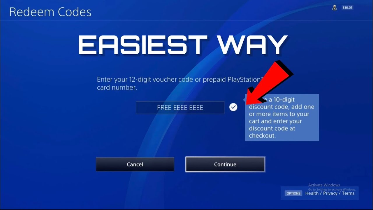 HOW TO REDEEM PSN CODES - Easiest way! - YouTube