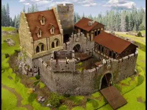 Medieval Castle for tabletop or wargame