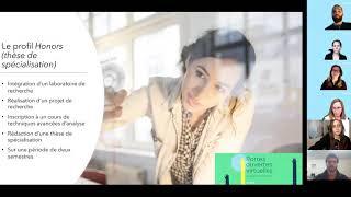 Portes ouvertes : «Survol des programmes de 1er cycle en psychologie»