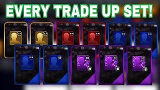 OPENING EVERY TRADE UP SET IN NBA LIVE MOBILE 20!!!