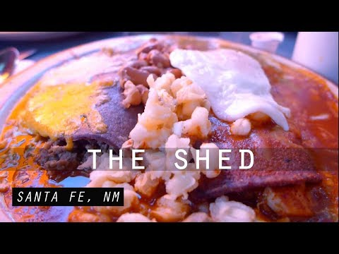 Santa Fe's Famous Chicken Enchiladas At The Shed | ThisLoveIsTakingOff Ep. 5