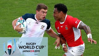 Rugby World Cup 2019: Tonga vs. USA | EXTENDED HIGHLIGHTS | 10/13/19 | NBC Sports Video