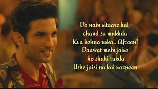 Sweetheart lyrics | Kedarnath |Sushant Singh Rajput | 2018 |